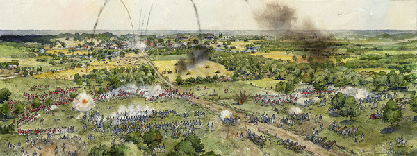 The Battle of Bladensburg