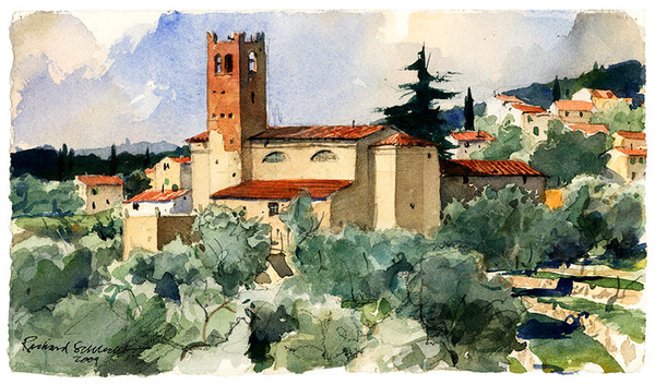 Church, Piezzano