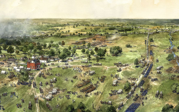 Ellwood Manor, Battle of Spotsylvania